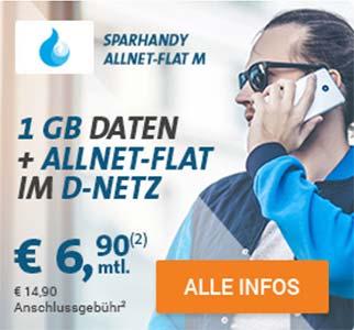 Telekom Allnet Flat mit bis zu 4GB Internet Flat ab 6,90€