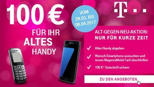 Telekom Alt gegen Neu Aktion mit 100€ Bonus ★ Magenta Tarife ★