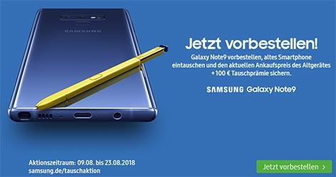 Samsung Galaxy Note 9 mit Vertrag ★ Vorbestellung ★