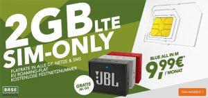 2GB LTE Allnet Flat mit EU-Roaming für 9,99€