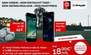 2GB Vodafone Allnet Flat ab 18,99€ mit Smartphone ab 1€