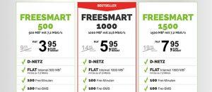 Freenet Handyverträge für Smartphones ab 3,95€