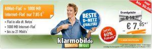 1GB Telekom Allnet Flat für 8,85€