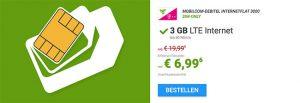 3GB Telekom LTE Internet Flat für 6,99€