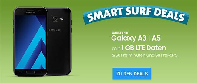1GB o2 Smart Surf für 9,99€ mit Smartphone ab 4,95€