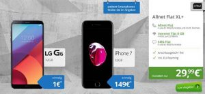 8GB OTELO Allnet Flat XL für 29,99€ mit Smartphone ab 1€