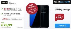 2,5GB OTELO Allnet Flat XL für 29,99€ mit Galaxy S7, iPhone ab 1€