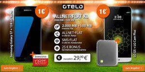 2,5GB OTELO Allnet Flat XL für 29,99€ mit TOP Smartphone ab 1€