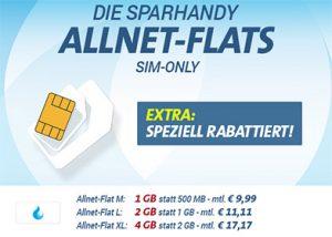 Telekom Allnet Flat mit bis zu 4GB Internet Flat ab 9,99€