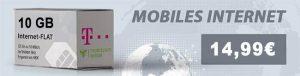 10GB LTE Telekom Internet Flat für 14,99€