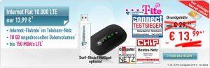 6GB LTE Telekom Internet Flat für 8,99€