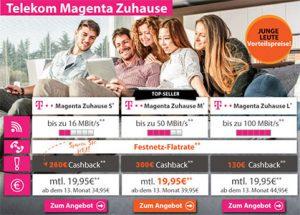 Telekom DSL Magenta Anschluss mit bis zu 300€ Auszahlung 1