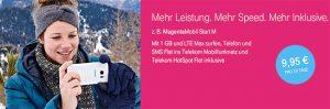 Telekom MagentaMobil Start mit LTE Internet ab 3,94€ ohne Laufzeit