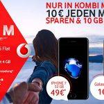 Vodafone RED GigaKombi Tarife mit ★ 10GB Bonus ★