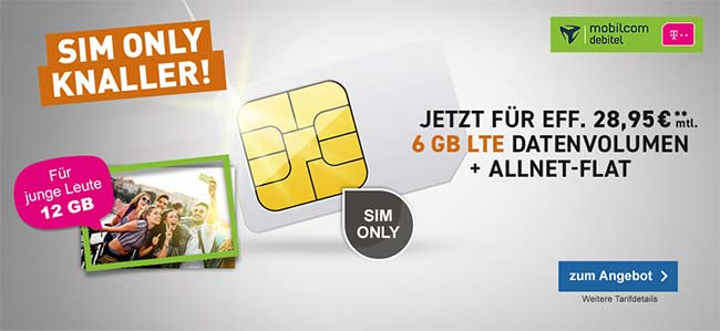 MD Telekom Magenta Mobil L für rechnerisch 28,95€
