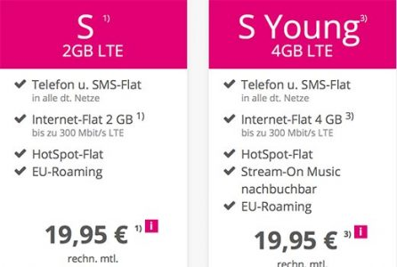 MD Telekom Magenta Mobil S für rechnerisch 19,95€