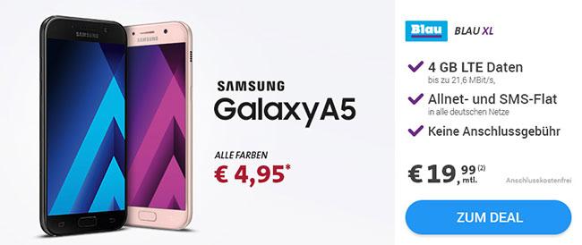 Blau Allnet Flat XL (4GB) ab 19,99€ mit Smartphone ab 1€
