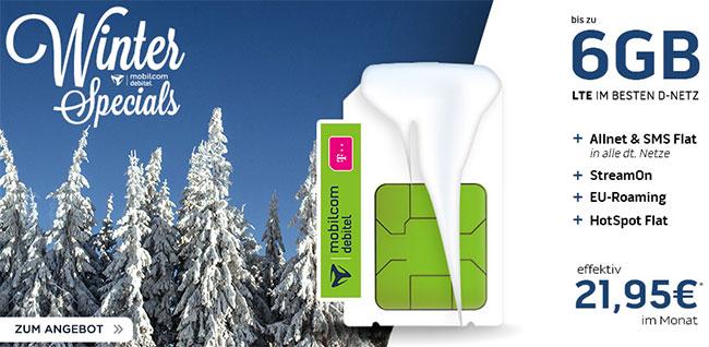 MD Telekom Magenta Mobil M für rechnerisch 21,95€