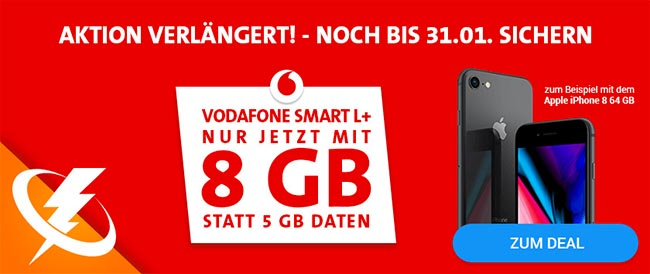 8GB LTE Vodafone Smart L Plus ???? für kurze Zeit ????