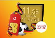 Vodafone CallYa / Prepaid * 11GB Aktion * - Juni 2018
