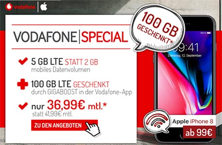 5GB LTE Vodafone Smart L Plus für 36,99€ mit TOP Smartphone