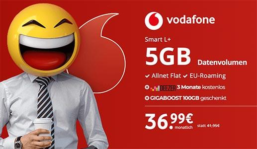 5GB LTE Vodafone Smart L Plus - Angebote Mai 2018