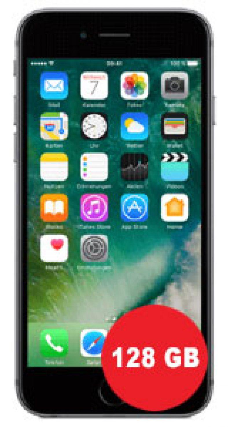 Apple iPhone 6s 128GB mit Vodafone Smart L Plus (Aktion)