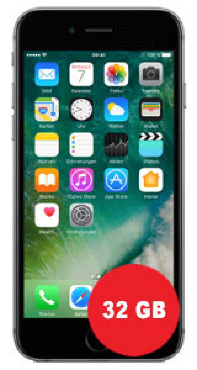 Apple iPhone 6s 32GB mit o2 Free M (+5)
