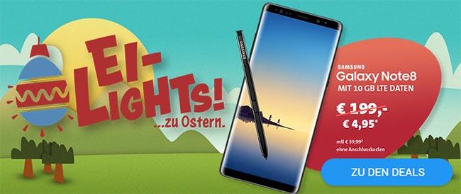 10GB o2 Free M ab 34,99€ mit TOP Smartphone ab 1€