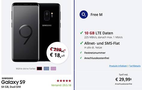 o2 Free M (10 GB LTE) Angebote Mai 2018