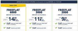 FreenetMobile Tarife ab 3,99€ - Angebote Juli 2018