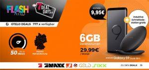 6GB otelo Allnet-Flat Comfort (LTE) mit Galaxy S9 für 9,95€
