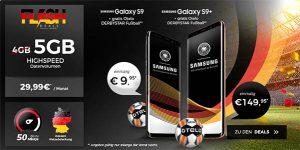 5GB otelo Allnet-Flat Comfort (LTE) mit Galaxy S9 für 9,95€