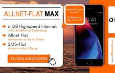 otelo Allnet-Flat Max 6GB - Angebote Juli 2018