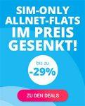 Sparhandy Telekom LTE Allnet Flat mit bis zu 8GB Internet Flat ab 17,90€