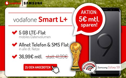 5GB LTE Vodafone Smart L Plus - Angebote Juni 2018