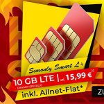 10GB LTE Vodafone Smart L Plus für effektiv 15,99€ pro Monat