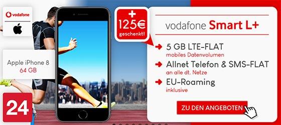 Vodafone Smart L Plus (5GB + 3 Monate frei) Aktion