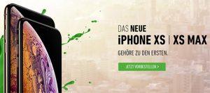 Apple iPhone Xs / Xs Max ab 1€ mit Vertrag - Vorbestellung