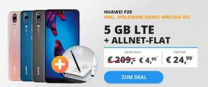 Blau Allnet XL (5GB LTE) mit Huawei P20 Pro für 49€