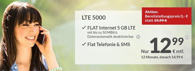 maXXim LTE Tarife - Angebote Oktober 2018