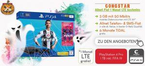 Congstar Allnet Flat Tarife (LTE) mit Sony Playstation Pro + Fifa 19 für 49€