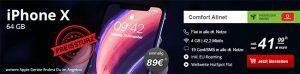 4GB Mobilcom Debitel Comfort Allnet mit Apple iPhone X ab 79€