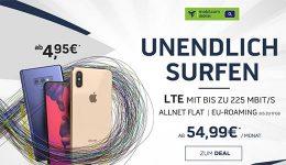 Mobilcom Debitel o2 Free Unlimited ab 54,99€ mit TOP Smartphone ab 4,95€
