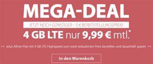 4GB LTE PremiumSIM Allnet Flat für 9,99€ | mit und ohne Smartphone aktuelle Angebote in der Übersicht