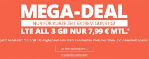 3GB winSIM LTE Tarif für 7,99€ *kein Anschlussgebühr*