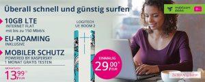 10GB LTE Telekom Internet Flat für 13,99€ + Bluetooth Lautsprecher | mobiler LTE Router ab 1€