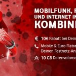 Vodafone RED GigaKombi Tarife (bis zu 37GB) mit Apple iPhone 11, Huawei P30, Google Pixel 4 ab 4,95€