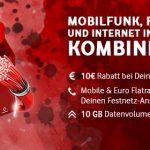 Vodafone RED GigaKombi Tarife (bis zu 37GB) mit Apple iPhone 11, Huawei P30, Google Pixel 4 ab 4,95€