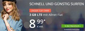 3GB LTE winSIM Allnet Flat Tarif für 7,99€ *kein Anschlussgebühr*